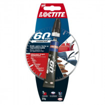 Colle Universal Multi-Usages 60 Secondes Loctite, 20 g