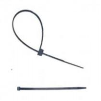 Collier de Câblage Noir 200 x 7,6 mm Sachet de 100