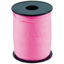Cordeau Rose Taliaplast 1000 m Fil Polypro Tréssé 1,5 mm