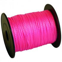 Cordeau Rose Taliaplast 200 m Fil Polypro Tréssé 2,5 mm