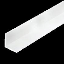 Cornière PVC Blanche 100 x 150 mm, épaisseur 2mm, 3m