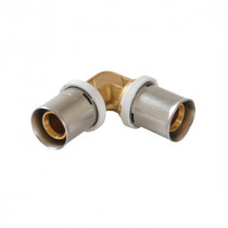 Coude Multicouche 90° à Sertir 16mm Nicoll Fluxo FLC16