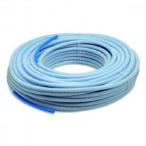 Tube PER Pré-gainé Bleu 20 mm, Couronne de 50 m
