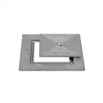 Couvercle de Regard 40 x 40 cm en Aluminum Simple
