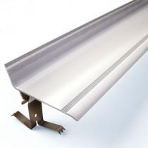 Couvre Joint Angle 90° PVC Gris à Clipser 50 mm, 3m