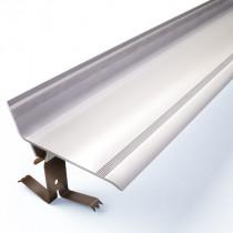 Couvre Joint Angle 90° PVC Marron à Clipser 70 mm, 3m