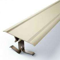 Couvre Joint Plat PVC Marron à Clipser 50 mm, 3m