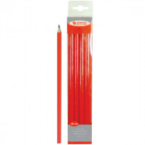 Crayon de Charpentier 30 cm Rouge Taliaplast
