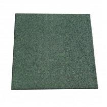 Dalle caoutchouc Hexdalle XE 50x50x2.5 cm, couleur verte, le M2