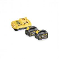 Pack 2 batteries XR Flexvolt 18V/54V 9Ah + Chargeur Dewalt DCB118X2
