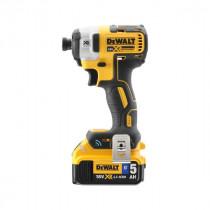 Visseuse à Chocs Dewalt XR Brushless ToolConnect 18V 5Ah, DCF888P2B