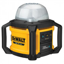 Eclairage de Chantier 360° Dewalt XR ToolConnect 5000 Lumens, DCL074