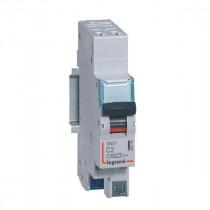 Disjoncteur Legrand DNX³4500 6kA 1P+N 230V~ 2A Courbe C Auto 406780