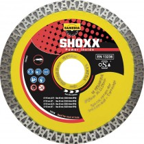 Disque Diamant Carrelage Shoxx Uf Cream Dur Samedia ⌀ 125mm x 22,23mm