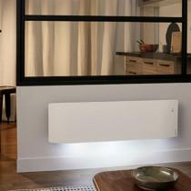 Radiateur Electrique Atlantic Divali Plinthe 750 W, Blanc