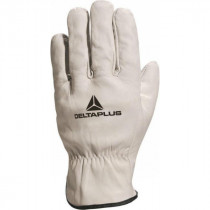 Gants Manutention en Cuir Deltaplus DPFBN49 Naturel