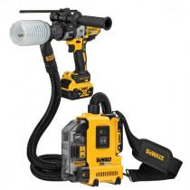 Aspirateur Portable Dewalt XR Brushless 18V 2Ah, DWH161D1