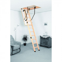 Escalier Escamotable Bois Fritz EB-Energy 2,8 m Trémie 120 x 60 cm