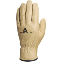 Gants Manutention en Cuir DELTAPLUS FB149 Beige