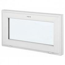 Fenêtre abattant en PVC, 60 cm x 100 cm