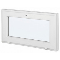 Fenêtre abattant en PVC, 45 cm x 120 cm
