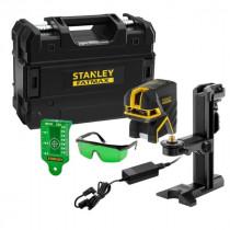 Niveau Laser Stanley Fatmax 2 points Croix + Batterie FMHT77597