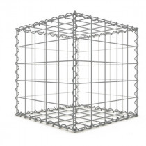 Gabion Cubique 100x100x100 cm 4 faces fil 4 mm maille 10x10 cm