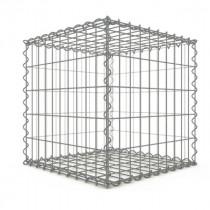 Gabion Cubique 100x100x100 cm 4 faces fil 4 mm maille 5x10 et 10x10 cm