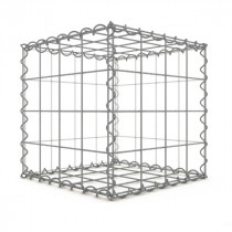 Gabion Cubique 40x40x40 cm 4 faces fil 4 mm maille 10x10 cm