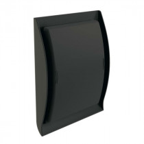 Grille Ventilation Nicoll ⌀ 100 mm à Fermeture Neolia Anthracite