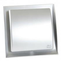 Grille Ventilation Nicoll ⌀ 100 mm Norme Gaz Neolia Inox Brossé