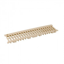 Grille seule A15 Connecto Nicoll Sable 100 mm x 0,50 m