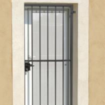 Grille de Défense Ouvrante pour Porte Classique, Dimensions au choix