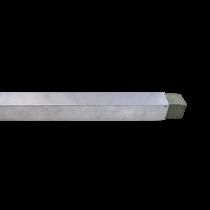 Guide Mur Aluminium pour Maçonnerie 65x65cm, le profil de 3m