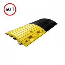 Eléments pour Ralentisseurs Lot de 2 50x43x3cm Caoutchouc Viso HD700NJ