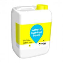 Hydrofuge Liquide Mortiers et Béton Weberad 5l