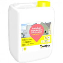 Hydrofuge Liquide Façade, Toit, Sol, Terrasse Weber Protecteur 5l