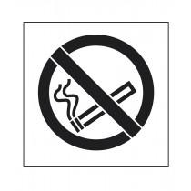 Pochoir symbole Défense de fumer 90x80cm