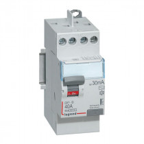 Interrupteur Différentiel 40A Type AC 30mA 230V 2P, Legrand 411611