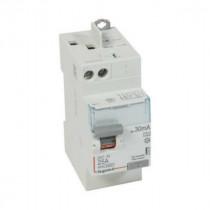 Interrupteur Différentiel 25A Type A 30mA 230V 2P, Legrand 411637