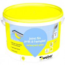 Joint Fin Carrelage Mur, Plan de Travail Weber.joint Pâte Blanc 5kg