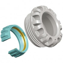 Kit d'Adaptation Plasson pour Tube PER/PVC 25 mm 1091QQ025