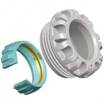 Kit d'Adaptation Plasson pour Tube PER/PVC 40 mm 1091QQ040