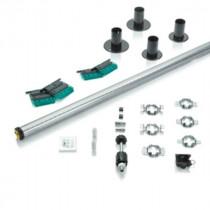 Kit Motorisation pour Volet Roulant radio Bloc-baie Somfy RS100 6 Nm
