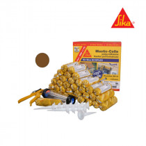 Kit Mastic colle Sika Ecoflex Pro 11 FC, 35 recharges Marron