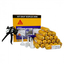 Kit Mastic colle Sika Ecoflex Pro 11 FC Mini Gris, 20x300ml