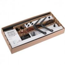 Kit Moteur Volet Battant Radio Blanc et Noir 2 vantaux Somfy YSLO FLEX