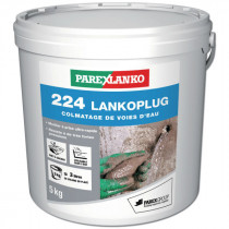 Mortier ultra rapide Lankoplug 224 en seau de 5 kg
