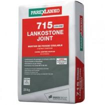 Mortier de Jointoiement Lankostone 715 gris, sac de 25kg