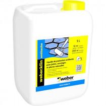Liquide de Protection Joints, Carrelage Weber.klin Antitache 5l